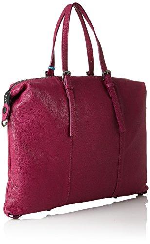 Gabs Goldie Red Black Trasf Piatta Studio Bag Razza Amarena amp; Gabs Women's L Tg fwr1Rfq
