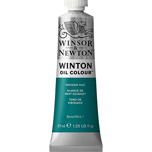 (Winton Oil Paint 37ml/Tube-Viridian Hue)