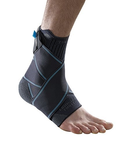 Ligastrap Malleo Ankle Brace ? Recommended for mild ankle ligament strains, ankle sprains, chronic ankle laxity (loose ankle ligaments). High quality, supportive ankle brace available in 4 sizes. (Si