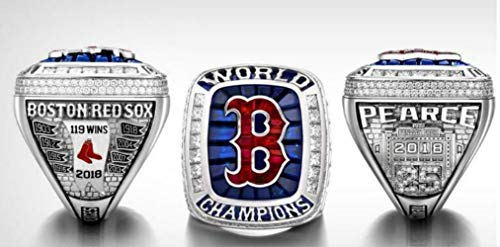 crystal 1st store BT N 2018 red Sox Championship Ring Size 8-14 (11, No Box)]()