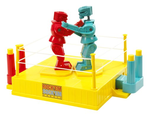 35TH Anniversary Rock 'em Sock 'em Robots Game (Discontinued by (Boxing Robots)