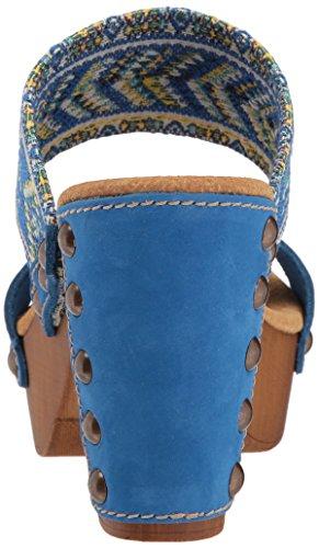 Sandalo Con Tacco Donna Kashmir Di Sbicca Blu Multi Multi