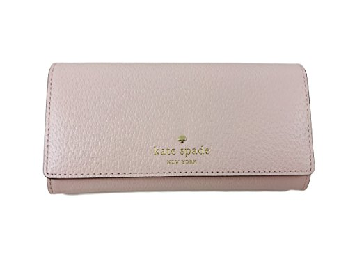 Kate Spade New York Grand Street Nika Leather Clutch ID Wallet in Balletslip by Kate Spade New York