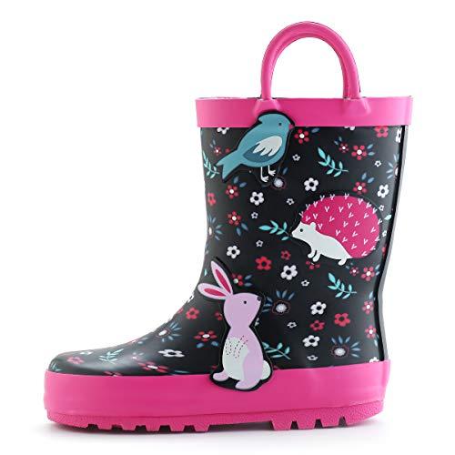 (KomForme K Kids Girl Rain Boots)