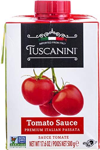 Tuscanini, Tomato Sauce, Premium Italian Passata, 17.6oz (3 Pack)