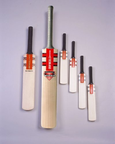 Gray Nicolls Team Sports Playing Official Autograph Short Hand Cricket Bat by Gray-Nicolls by Gray-Nicolls