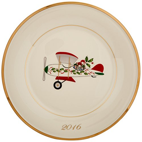 Lenox 2016 Annual Holiday Accent Plate, Ivory