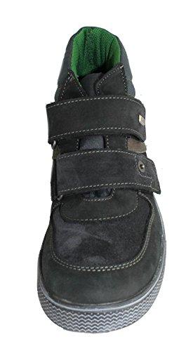 Däumling D. Craft 290471S70 Jungen Halbschuh Sneaker Schwarz Klettverschluß EU 37