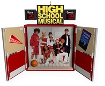 Hallmark High School Musical 3: Senior Year 2009 Ornament (Christmas Musical School High)