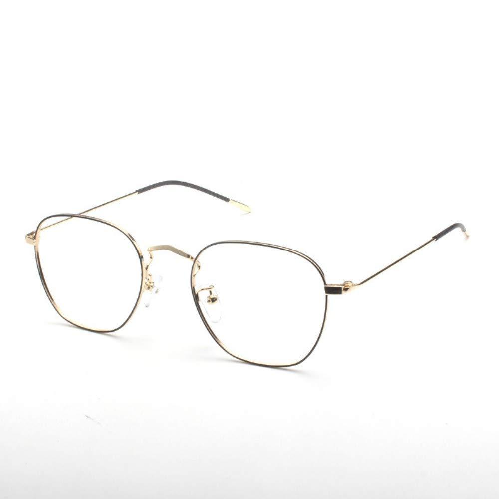 Anti-blue light radiation glasses///flat glasses no degree personality trend retro