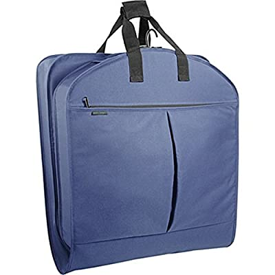 WallyBags 45 Inch Extra Capacity Garment Bag with Pockets