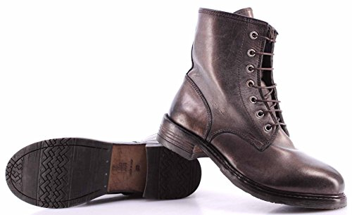 Damen Schuhe Stiefeletten MOMA Ankle Boots 80505-6D Ghost Cipolla Vintage Italy