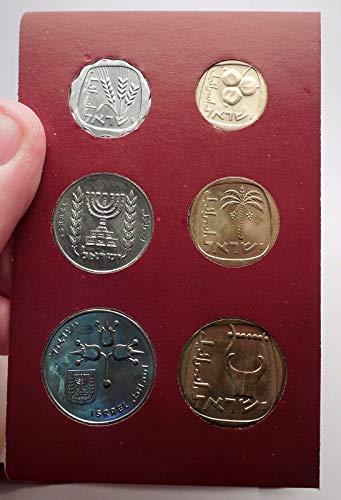 (IL 1970 1970 ISRAEL Jerusalem Specimen Set 6 Coins Collec)