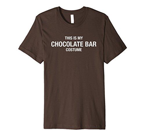 Halloween My Chocolate Bar Costume Brown Shirt Funny