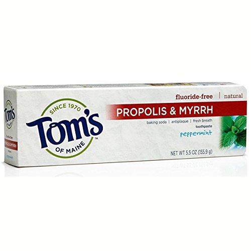 TOM'S OF MAINE Toothpaste Baking Soda Prop/Myrrh Peppermint 6 OZ