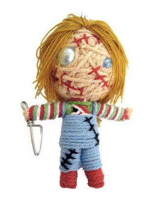 String Doll World Chucky Voodoo String Doll Keychain