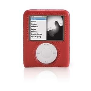 Griffin Elan Form for iPod nano 3G, Red - fundas para mp3/mp4 (Red) Rojo