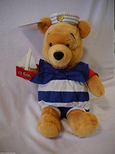 Retired Oversized Winnie the Pooh Sailor Pooh Bear SS Pooh Ship Captain 13