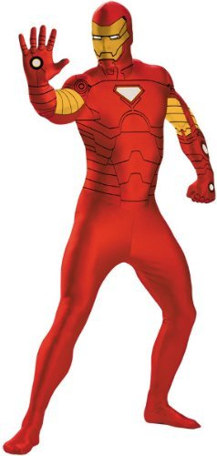 Iron Man Costume 38-40 (IronMan Bodysuit Costume Large 10-12)