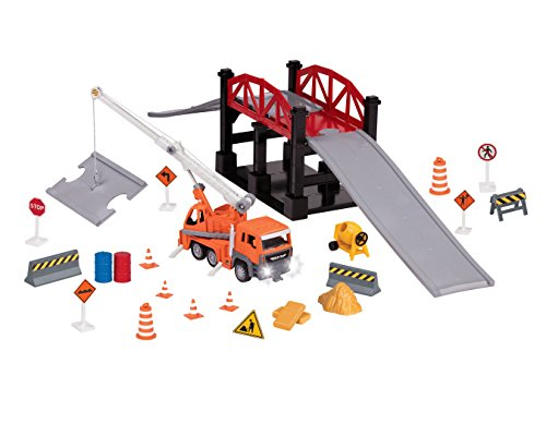 DRIVEN - Bridge Construction Play Set Toy (Micro Bridge)