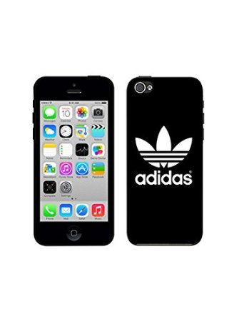Pretty iphone 5 C carcasa case Adidas Originals Brand Logo – Carcasa Case- Hard Plastic Phone Carcasa Case For iPhone 5 C carcasa case