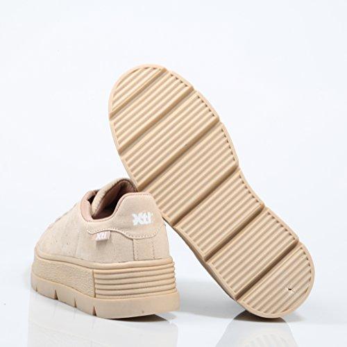 XTI Damen Sneaker Beige Beige