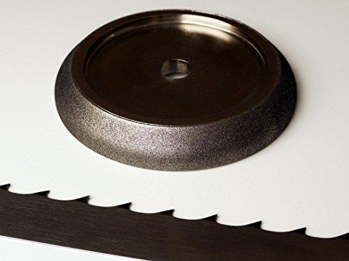 "5"" CBN Band Saw Sharpening Wheel to Grind Wood Mizer 9/29 Saw Blades -  Baltic Abrasive Technologies"