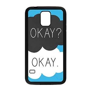 KKDTT Fresh Warm dialogue Cell Phone Case for Samsung Galaxy S5