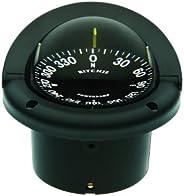 Ritchie Navigation HF-742 Helmsman Flush Mount Compass - Flat Dial, Black with Black Dial