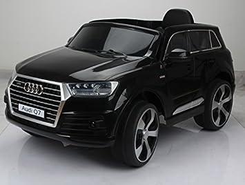 Voiture électrique pour enfant Audi Q7 12V - Noir  Amazon.fr  Jeux ... c6ff63987857