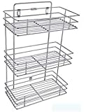 AMAZING MALL (LABEL) Stainless Steel Multipurpose Storage Rack/Shelf, Kitchen Rack - Triple