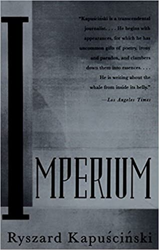 Imperium Ryszard Kapuscinski 9780679747802 Amazon Books