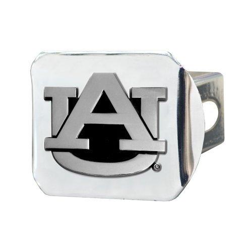 Outdoor Sport FANMATS NCAA Auburn University Tigers Chrome Hitch Cover Model: 14946 ()
