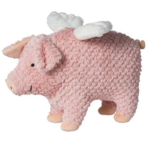 Flying Pig Toy (Mary Meyer FabFuzz Stuffed Animal Soft Toy, Mud Flapper Flying Pig,)