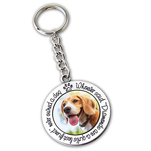 Cathedral Art KR291 Beagle Key Ring, 2-1/2-Inch ()
