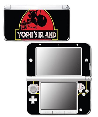 Yoshi's Island Jurassic T-Rex Video Game Vinyl Decal Skin Sticker Cover for Original Nintendo 3DS XL System (Island Nintendo Ds Yoshis)