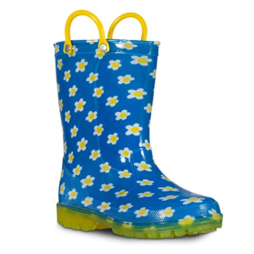 ZOOGS Children's Light Up Rain Boots for Little Kids & Toddlers, Boys & Girls by ZOOGS