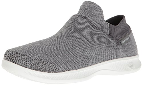 Skechers Performance Women's Go Step Lite-Ultrasock Walking Shoe,Gray,7.5 M - Returns 6pm.com