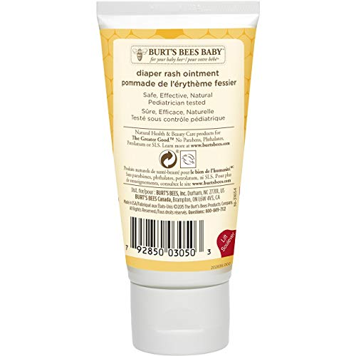 Large Product Image of Burt's Bees Baby 100% Natural Diaper Rash Ointment - 3 Ounces