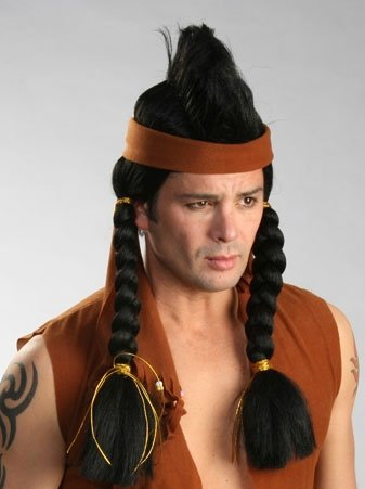 Enigma Wigs 00326 Mohawk Indian Wig - Mohawk Indian Costume