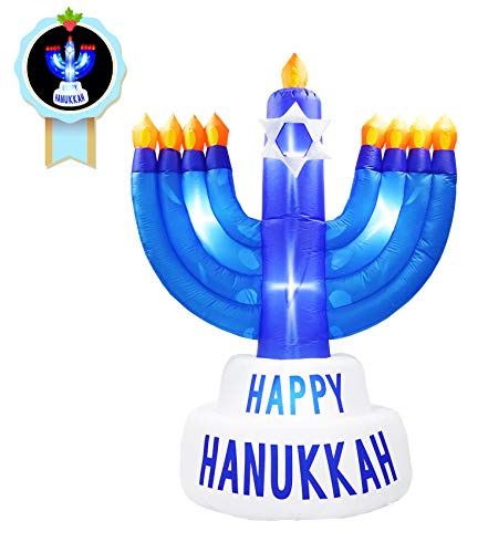 inslife 8Ft Hanukkah Candle Holder Inflatable Decoration Chanukah Inflatables Candle Stick Decorations for Home Garden Lawn Yard Indoor Outdoor¡ from inslife