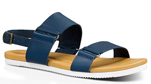 Athletic Teva Sandals Women's Sandal Navy Avalina W's Leather rX1Xfqv