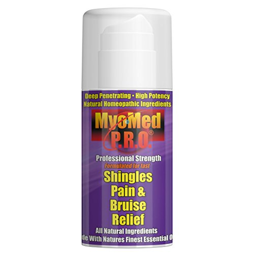 Best Shingles Treatment Cream For Pain Relief. Essential Oil Topical Formula Provides Maximum Recovery. Stops Burning, Itching & Nerve Pain. Heals Bruises Quickly. Guaranteed. by Myomed PRO 3.5oz.