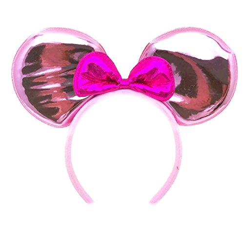 Mickey Mouse Minnie Mouse Ears Headband : M5 (GT-Pink1) - Supreme Beauty Queen Costume