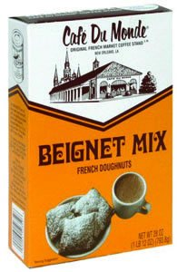 Cafe Gift (Cafe du Monde Mix Beignet Mix, 28 oz, Pack of 2)
