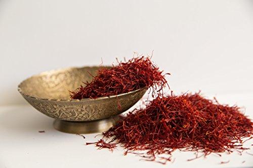 Persian Saffron Threads by Slofoodgroup Premium Quality Saffron Threads, All Red Saffron Filaments (various sizes) Grade I Saffron (1 Ounce Saffron) by SLO FOOD GROUP (Image #7)