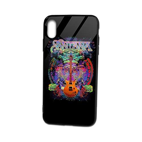 iPhone Xs Max Case San-tana TPU Glass Phone Case Socket Shock Absorption Technology Bumper Soft TPU