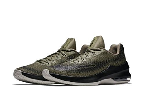 the best attitude 00b30 24d05 Galleon - Nike Men s Air Max Infuriate Low Basketball Shoe (10 D(M) US,  Trooper Black-Cargo Khaki) …