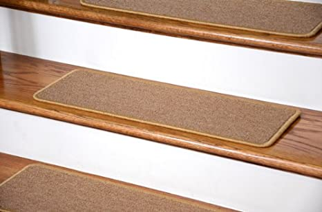 Dean Diy Peel And Stick Serged Non Skid Carpet Stair Treads Golden Camel 13 27 X 9 Runner Rugs