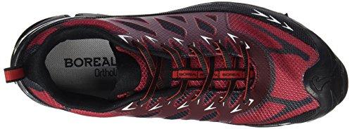 Boreala Klätterskor Mens Lätta Alligator Svart Rödbrun 31.645 Svart Rödbrun